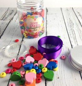 Love Hearts Beading Kit