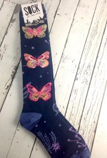Madame Butterfly Knee High Socks