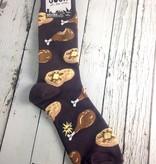 Chicken + Waffles Men's Crew Socks