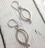Handmade Silver Basic Earring by Viki