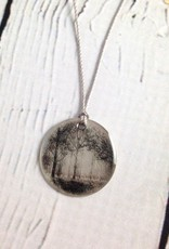 """Sterling Litho """"Spring Grove"""" Necklace"""