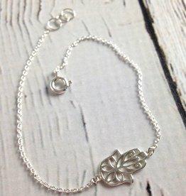 Sterling Silver Hasma Bracelet