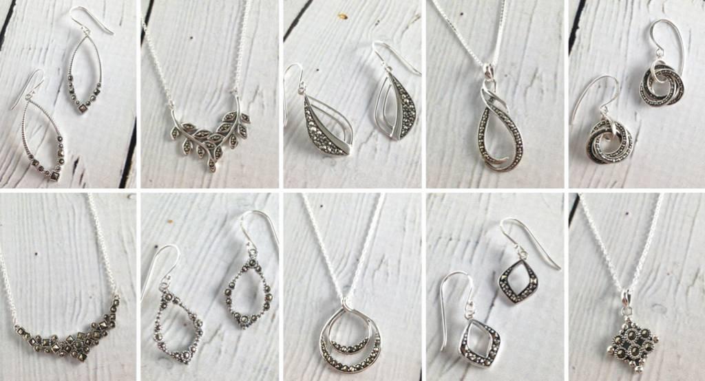 Sparkly & Pretty Marcasite Jewelry