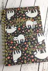 The Sloth Life Spiral Journal