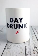 Day Drunk Vintage Beer Koozie