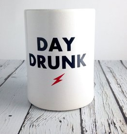 Day Drunk Vintage Beer Koozie