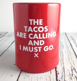 The Tacos are calling and I must go Vintage Beer Koozie