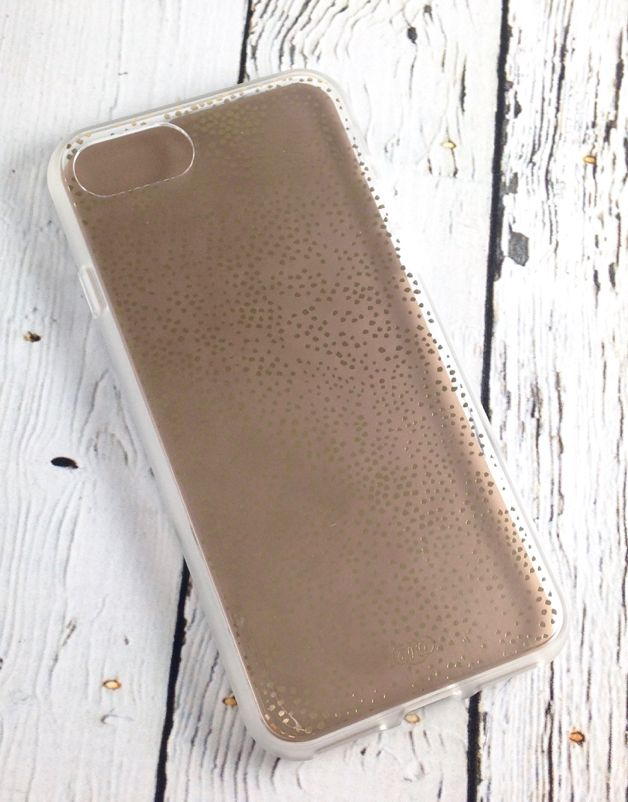 Clear Champagne iPhone 7 Case