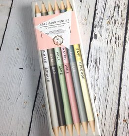 Metallic Indecision Pencils