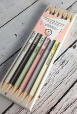Metallic Indecision Pencils