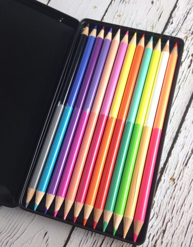 Oh K! Rainbow 50/50 Pencils