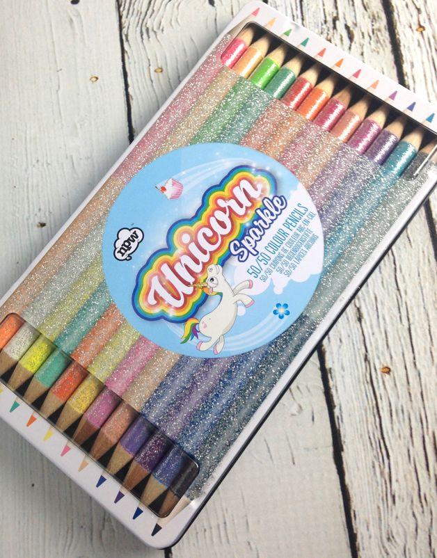 Unicorn Sparkle 50/50 Pencils