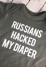 Russians Hacked my Diaper 6-12 Month Onesie