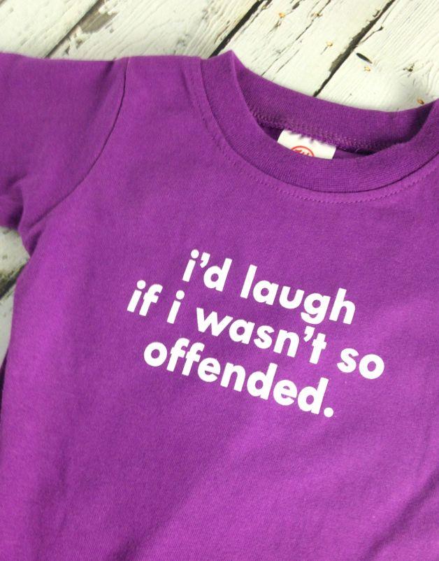 I'd Laugh Onesie 6-12 Months
