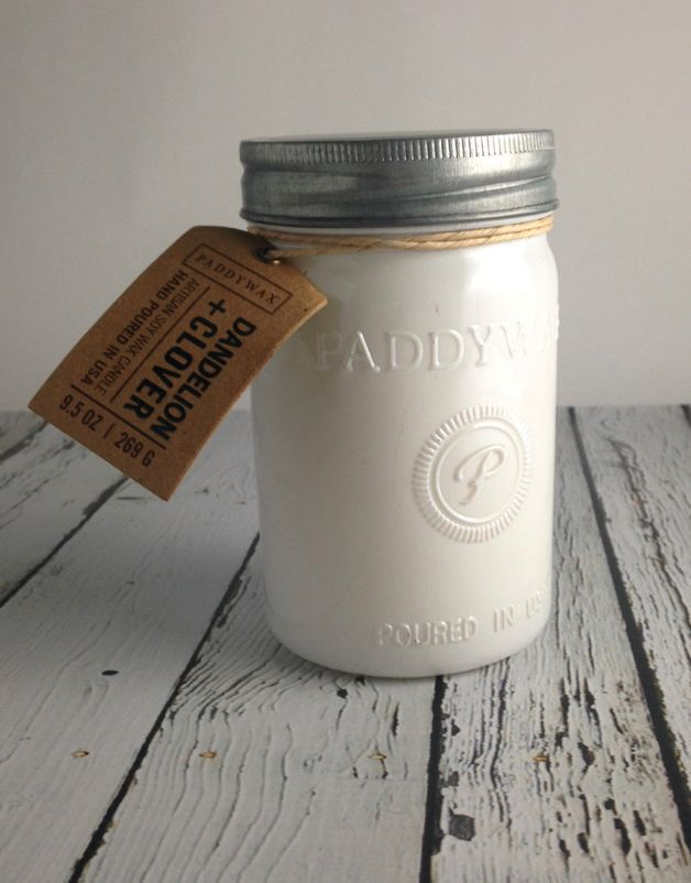 Dandelion + Clover 9.5oz Candle