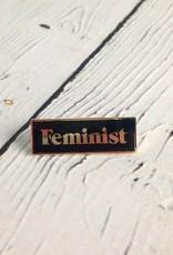 Feminist Enamel Pin