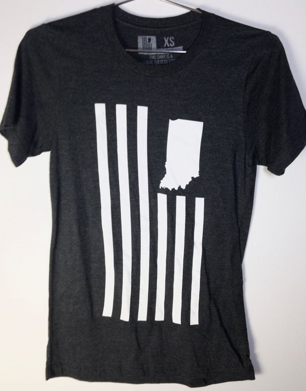 United State of Indiana (USI) Flag Tee