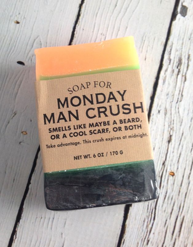 Soap for Monday Man Crush