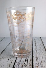 Good Measure Whiskey Cocktail Glass