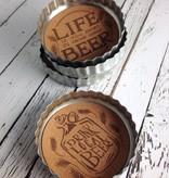 Beer Cap Beer Coasters Set of 4