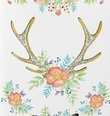 Floral Fawn Temporary Tattoo