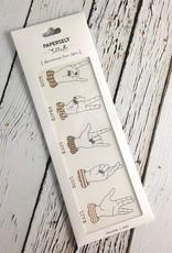 Sign Language Temporary Tattoo