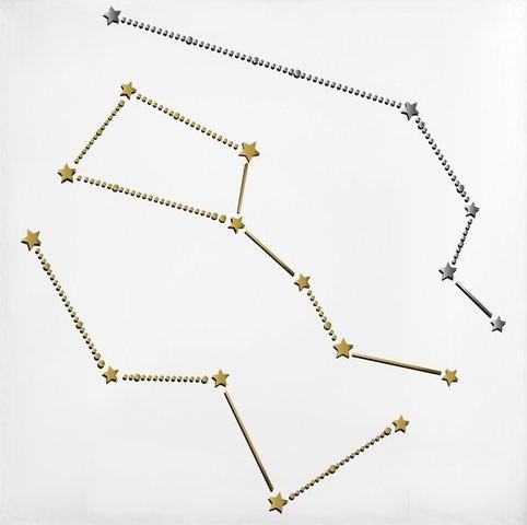 "Star Crossed 4""x4"" Temporary Tattoo"