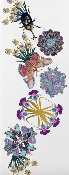 Winged Botanica Temporary Tattoo