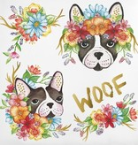 Woof Temporary Tattoo