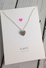 Handmade Sterling Silver Love Wins Necklace