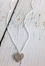 Handmade Sterling Silver Forever Necklace