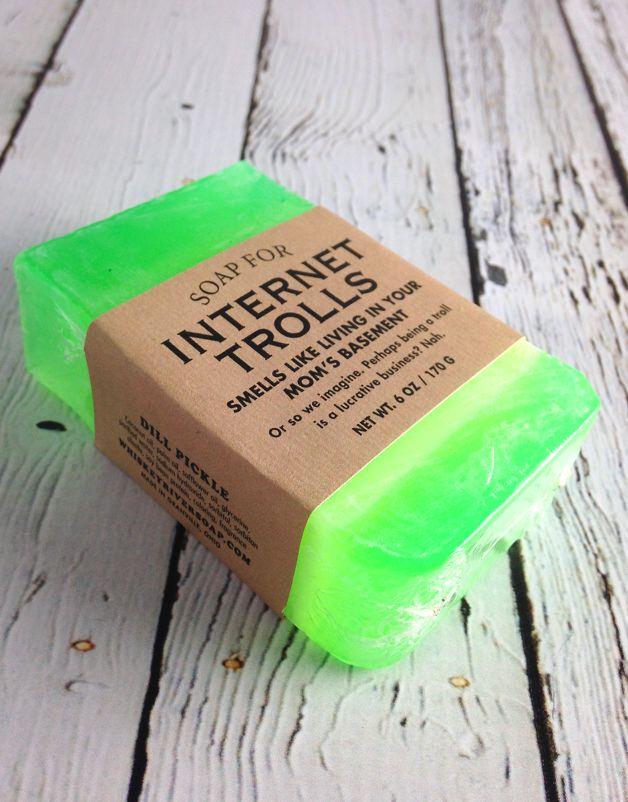 Soap For Internet Trolls