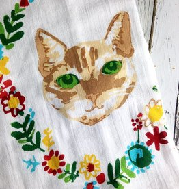 So Fancy Cat Dishtowel Set of 2