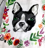 Brave Dog Dishtowel Set of 2