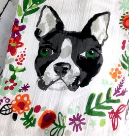 Brave Dog Dishtowel Set of 2