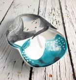 Trinket Tray Ceramic Mermaid
