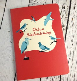 Large Urban Bird Watching Notebook