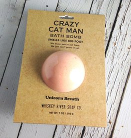 Crazy Cat Man Bath Bomb