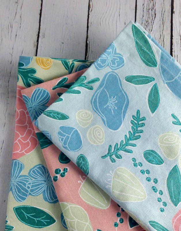 Spring Time in Bloom Dishtowel Set of 3
