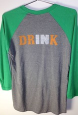Indiana Beer Mug Baseball Tee