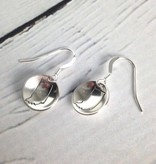 Handstamped Indiana Earrings