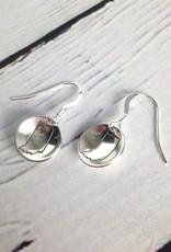Handstamped Indiana Earrings