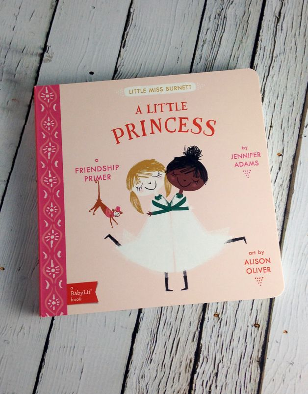 GIBBS SMITH A Little Princess BabyLit Friendship Primer Book