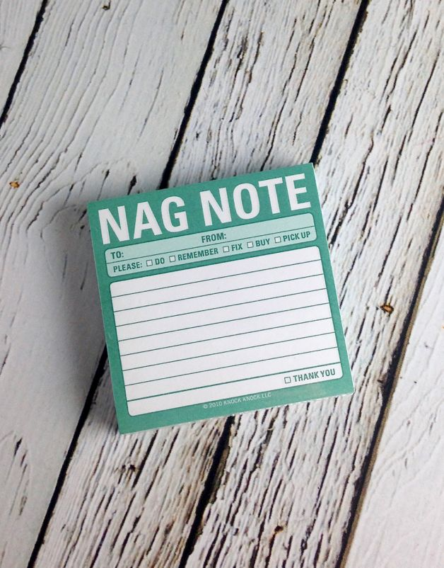 Nag Notes Sticky Notes