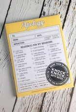 Apology Nifty Notes