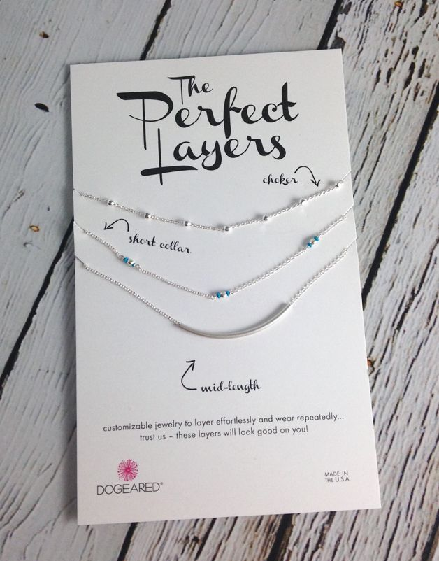 The Perfect Layers Set of 3 Necklaces with Turquoise Collar
