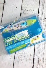 Dogs on a Roll Decorative Sticker Tape