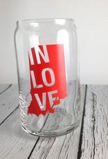 IN LOVE Pint Glass