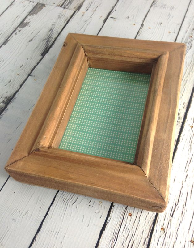 """4"""" x 6"""" Wood Photo Frame"""