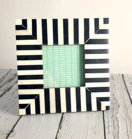 Small Black & White Striped Frame